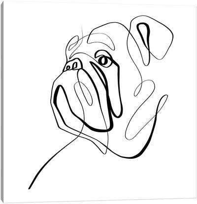 Bulldog II Canvas Art Print