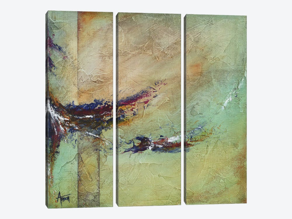 Tempestuous by Kimberly Abbott 3-piece Canvas Artwork