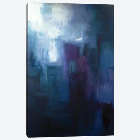 Urban Nocturne Canvas Print #KIA14} by Kimberly Abbott Art Print