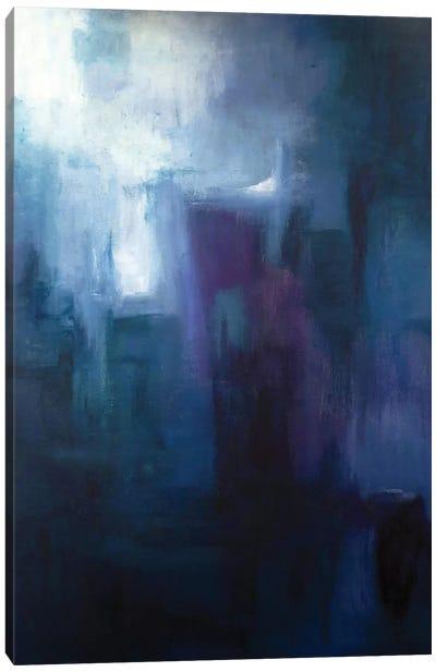 Urban Nocturne Canvas Print #KIA14