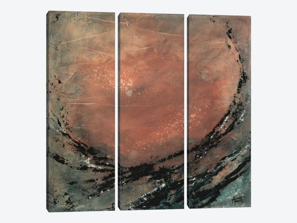 Desert Moon by Kimberly Abbott 3-piece Canvas Artwork