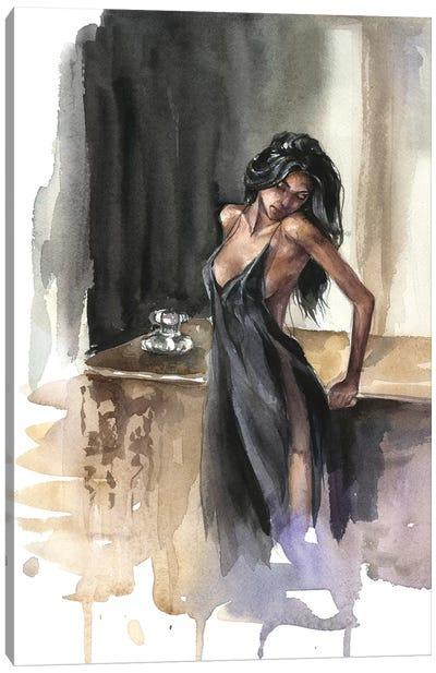 Lady Canvas Art Print