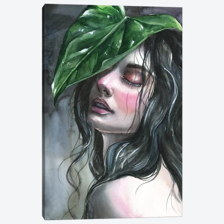 Leaf Canvas Print #KIB11} by Kira Balan Art Print