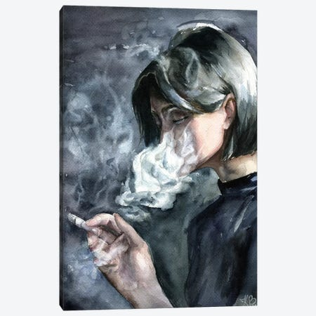 Smoke Canvas Print #KIB28} by Kira Balan Canvas Wall Art