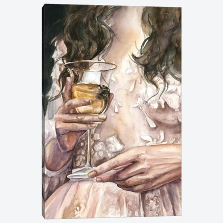 Wine Canvas Print #KIB29} by Kira Balan Canvas Artwork