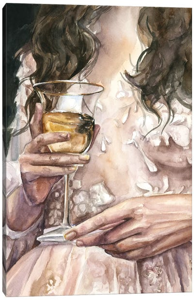 Wine Canvas Art Print