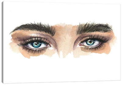 Eyes Canvas Art Print
