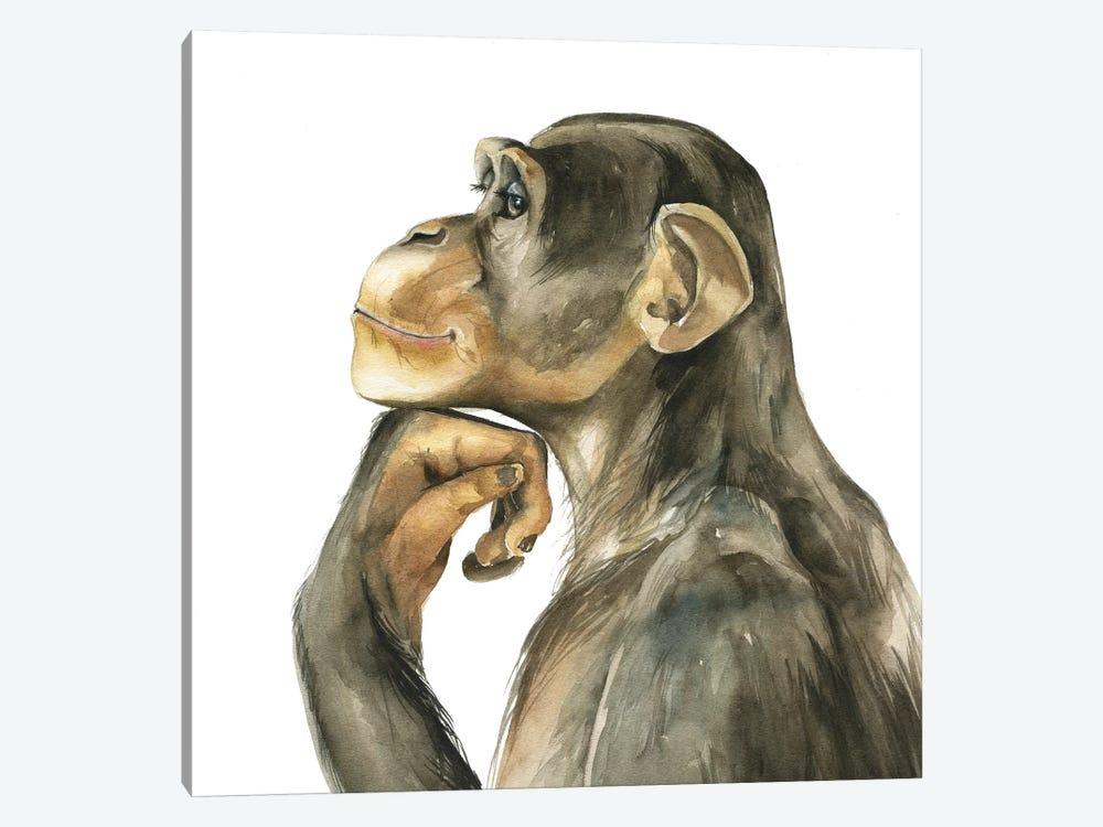 Monkey by Kira Balan 1-piece Art Print