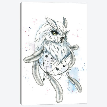 Owl I Canvas Print #KIB35} by Kira Balan Canvas Wall Art