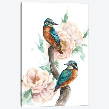Birds 3-Piece Canvas #KIB43} by Kira Balan Canvas Wall Art
