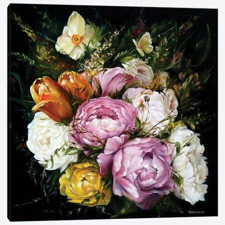 Flowers Canvas Print #KIB51} by Kira Balan Canvas Art Print
