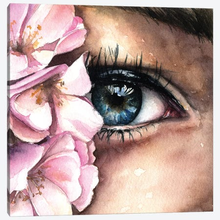 Eye Canvas Print #KIB5} by Kira Balan Canvas Art