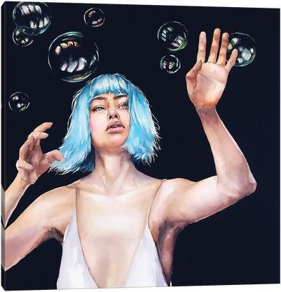 Bubbles Canvas Art Print
