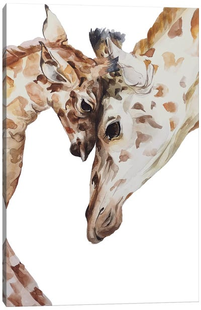Giraffe Canvas Art Print