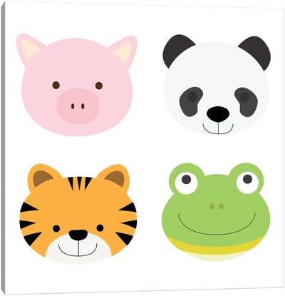 Animal Farm I Canvas Print #KID15