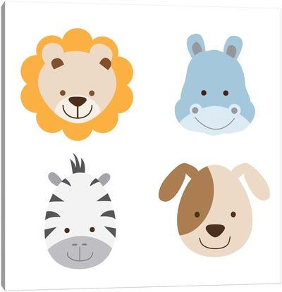 Animal Farm II Canvas Print #KID16