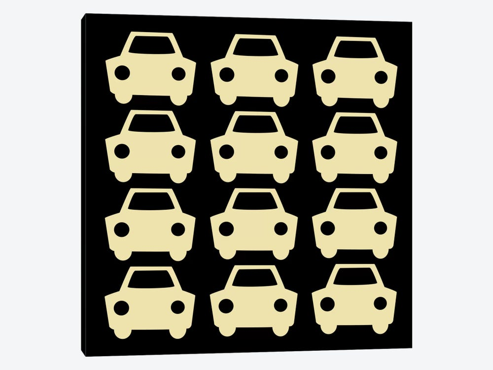 Beep Beep Cars by 5by5collective 1-piece Canvas Artwork