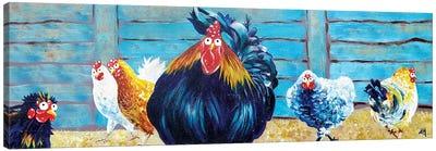 Cocksure Canvas Art Print