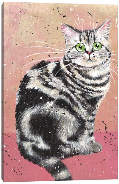 Elvis Cat Canvas Art Print