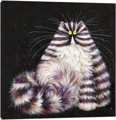 Purple Burt Canvas Art Print