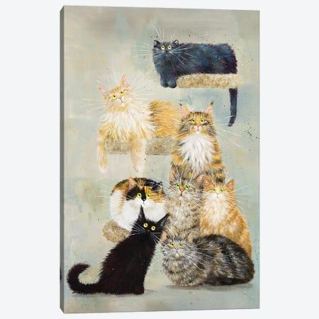 The Haynes Cats Canvas Print #KIH139} by Kim Haskins Canvas Wall Art