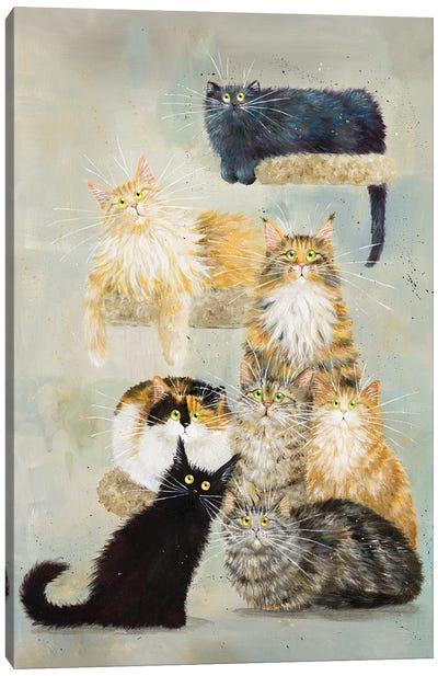 The Haynes Cats Canvas Art Print