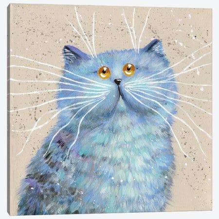 BLUE Canvas Print #KIH141} by Kim Haskins Canvas Art Print