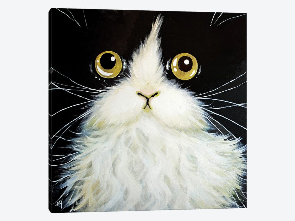 Gatoula by Kim Haskins 1-piece Canvas Art Print