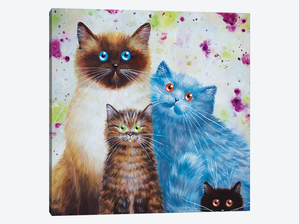 Harry William Coco And Penny by Kim Haskins 1-piece Art Print