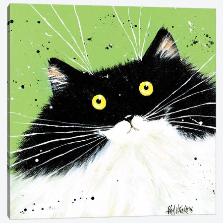 How Are You Canvas Print #KIH31} by Kim Haskins Art Print