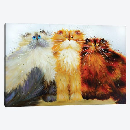 Miss Freeway Carwash And Parsley Canvas Print #KIH43} by Kim Haskins Canvas Art