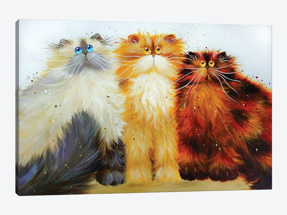 Miss Freeway Carwash And Parsley by Kim Haskins 1-piece Canvas Print