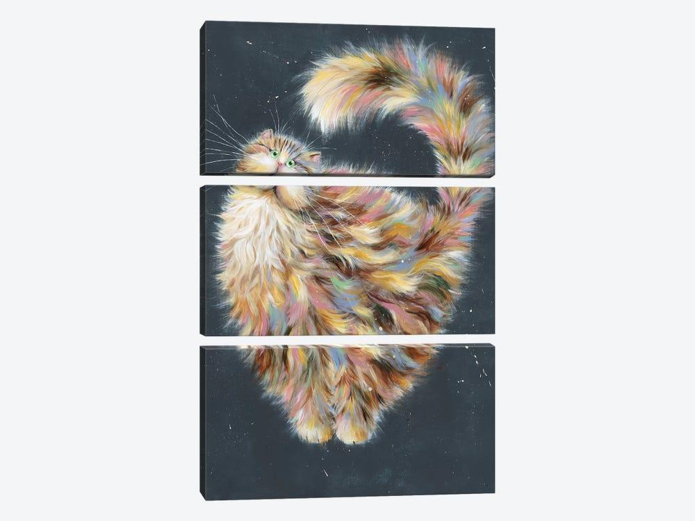 Patapoufette by Kim Haskins 3-piece Canvas Artwork