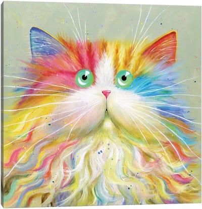 Moustachou Canvas Art Print