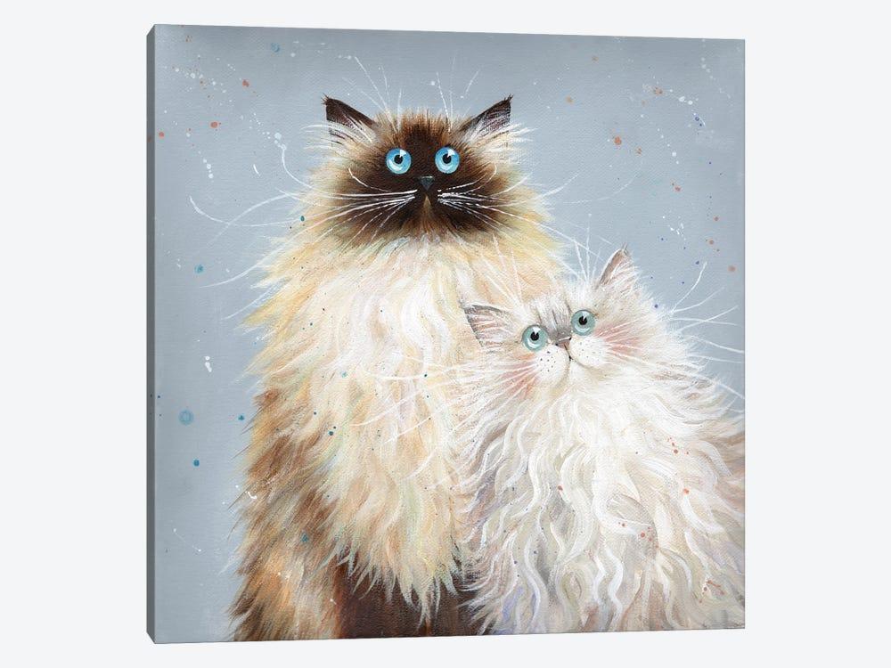 Sabrina And Sophie by Kim Haskins 1-piece Art Print
