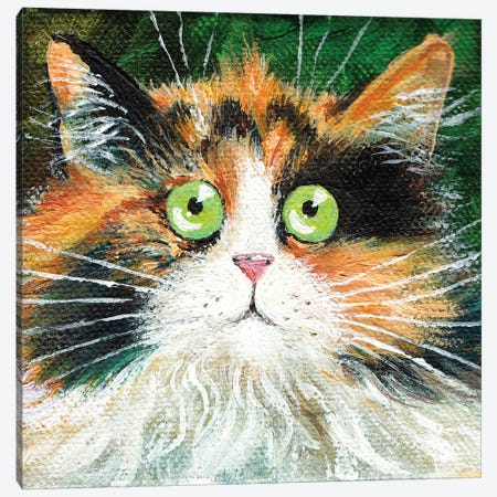Fluffy Indie Canvas Print #KIH76} by Kim Haskins Canvas Wall Art