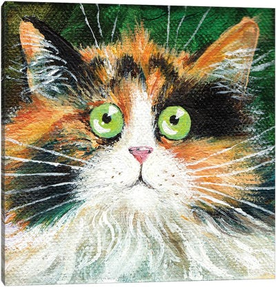 Fluffy Indie Canvas Art Print