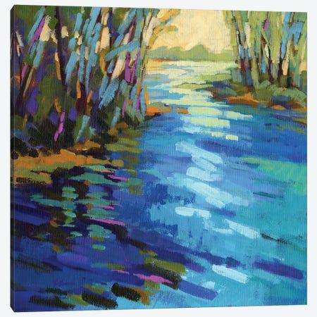 Colors Of Summer IX Canvas Print #KIK11} by Konnie Kim Canvas Wall Art