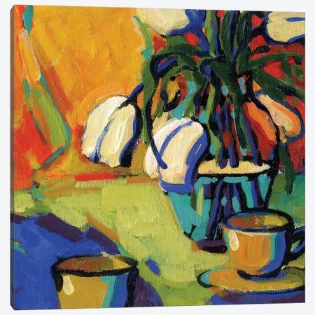Tea For Two Canvas Print #KIK25} by Konnie Kim Canvas Artwork