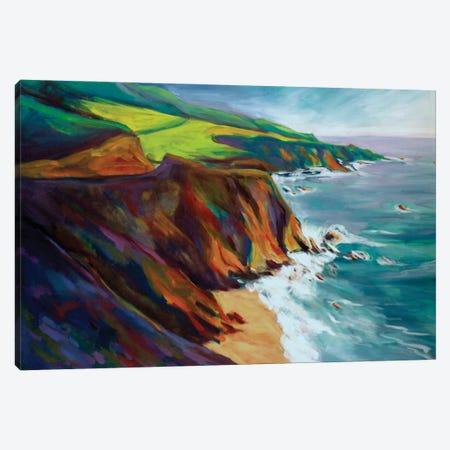 Big Sur I Canvas Print #KIK30} by Konnie Kim Canvas Artwork