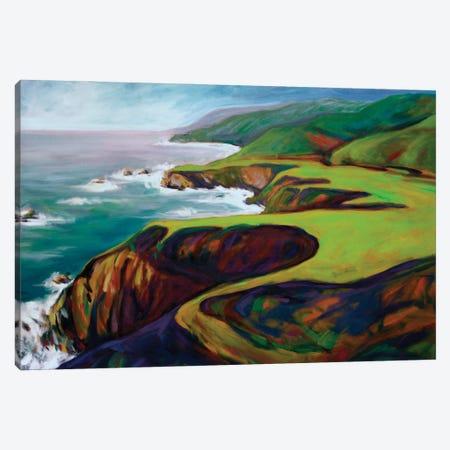 Big Sur II Canvas Print #KIK31} by Konnie Kim Canvas Artwork