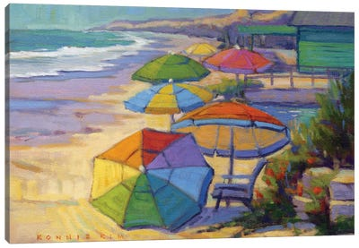Colors Of Crystal Cove Canvas Art Print