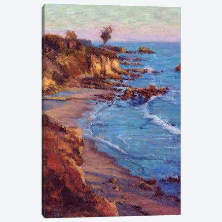 Corona Del Mar, Newport Beach Canvas Print #KIK37} by Konnie Kim Art Print