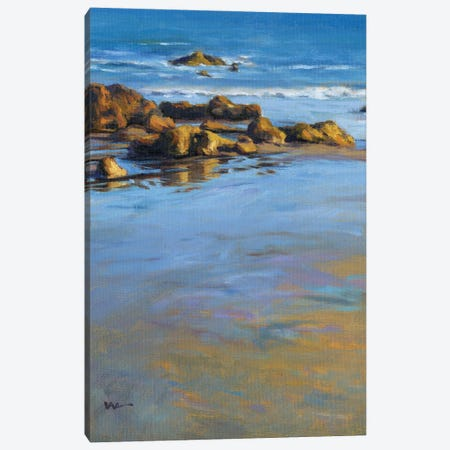 Pacific Reflection I Canvas Print #KIK41} by Konnie Kim Canvas Art Print