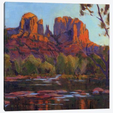 Cathedral Rock, Sedona Canvas Print #KIK45} by Konnie Kim Canvas Artwork