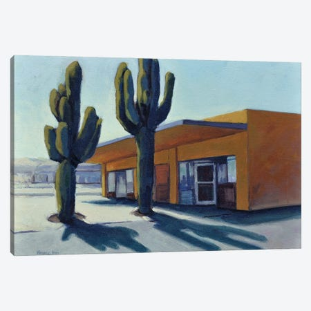 Road To Joshua Tree Canvas Print #KIK47} by Konnie Kim Canvas Art