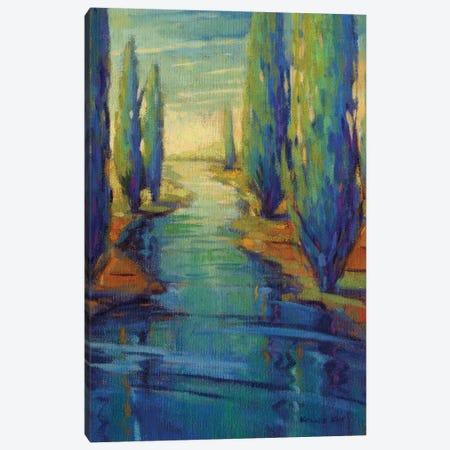 Along The Stream Canvas Print #KIK57} by Konnie Kim Art Print