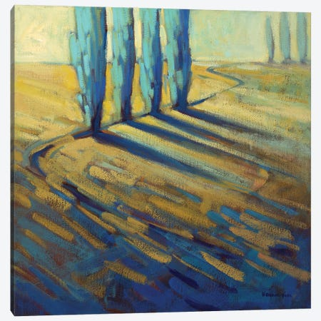 Teal Canvas Print #KIK6} by Konnie Kim Canvas Art Print