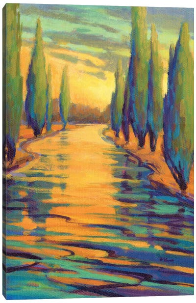Golden Silence III Canvas Art Print