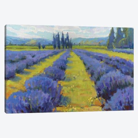 Lavender Dreams Canvas Print #KIK75} by Konnie Kim Art Print